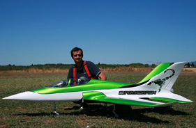 Kit SUPERSCORPION XAVIER SABAU - RC Jet model - Aviation Design